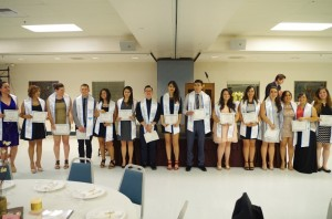 2015 Graduating Seniors, Clinica Banquet