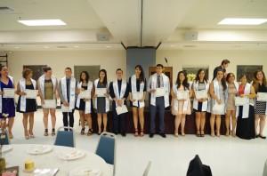2015 Graduating Seniors, Clinica Banquet